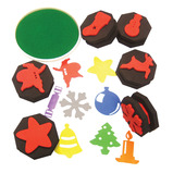CHRISTMAS STAMPERS DOUBLE SIDED PK6