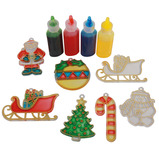 Glass Painting Christmas Decorations