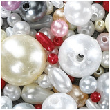 MIXED PEARL BEADS PACK OF 900