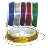 METALLIC WIRE PRIMARY COLOURS PK6
