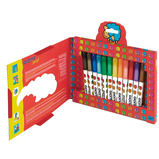 GIOTTO BEBE SUPER FIBRE PENS 12CT