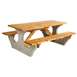 ANCHOR FAST 8 SEATER PICNIC TABLE