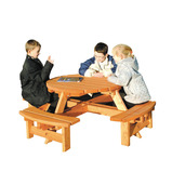 JUNIOR SHERWOOD ROUND PICNIC BENCH