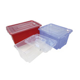 STORAGE BOX SML 390X290X200MM RED EA