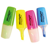 WMS MINI HIGHLIGHTER PENS PK 4