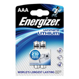 ENERGIZER AAA LITHIUM BATTERIES PK2