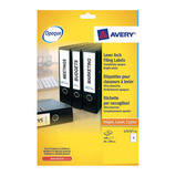 Avery Lever Arch Spine Labels