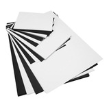 Black & White Card Packs - Assorted Sizes & Thicknesses