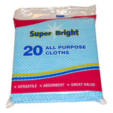 BLUE MULTI PURPOSE CLOTHS 25PK