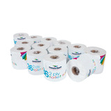 The Consortium 2 Ply White Toilet Rolls
