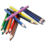 eQuality Easy-Grip Triangular Colouring Pencils