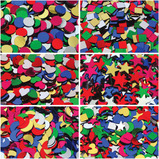 GLITTER ASSORTED SHAPES CLASSPACK PK