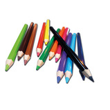 EQUALITY LARGE DIAM COL PENCIL PK12