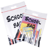 EQLTY SCH BAG 347X430MM A3 RED PK25