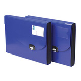RAPESCO EXPANDING FILE 7 PART BLUE