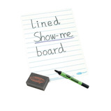 Show-me® Boards With Lines