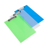Rapesco Frosted Transparent A4 Clipboard