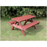 HEAVY DUTY PICNIC BENCH BLUE