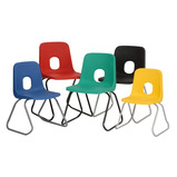 Hille Series E Skid Base Chairs