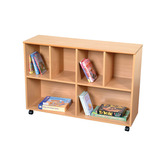 MOBILE LARGE STORAGE/SHELF UNIT
